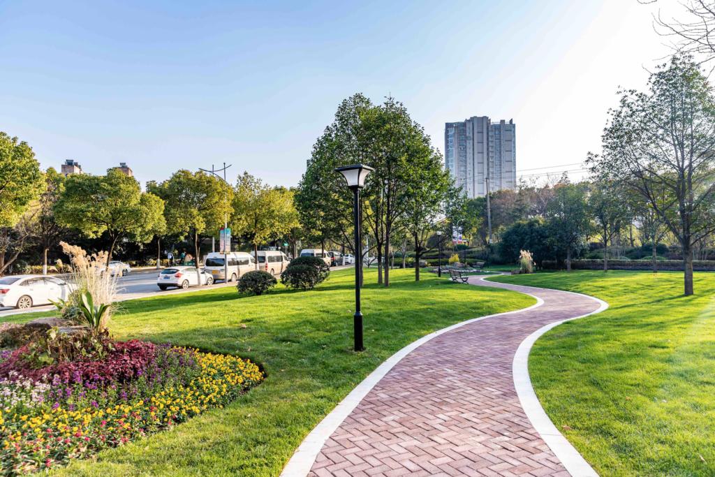commercial landscape design in Dallas